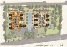 Wang Residence Apartemen Site Plan