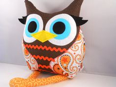 Owl plush pillow from bellamina. $30