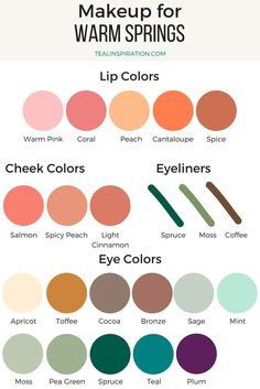 Warm Spring Makeup Colors