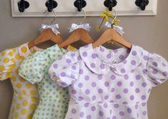 Chevron Dot Dress  Chevron and Dots  Easter by BaileyRoseBoutique, $33.75