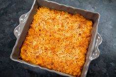 Chorizo Mac and Cheese ~ Baked macaroni with a sauce of cheddar and pepper jack cheese and Mexican chorizo. ~ SimplyRecipes.com