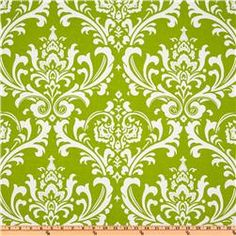 Premier Prints Ozborne Chartreuse-@Kathy Lavin this is the drapery fabric. I hope it's not too bright, it is going on two walls in the living room!