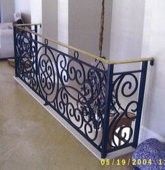 Wrought iron railings for home