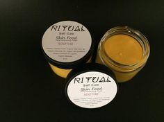 Skin Food Face Cream SOOTHE Natural Skin Care Organic Skin