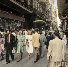 Rua do Ouvidor, Centro, em 1941. Rio de Janeiro! (Ouvidor Street, Centro, Rio de Janeiro - 1941)