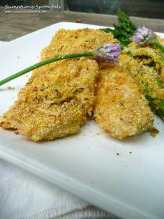 Parmesan Tarragon Chive Crusted Fish