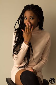 1000 ideas about Long Box Braids on Box Braids, Braids and Poetic Justice Braids Click this image for more info. Box Braids Hairstyles, African Hairstyles, Protective Hairstyles, Cool Hairstyles, Cornrows Hair, Braid Hair, Black Hairstyles, Protective Styles, Curly Hair Styles