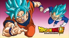 Dragon Ball Super: Goku y Vegeta ssj blue