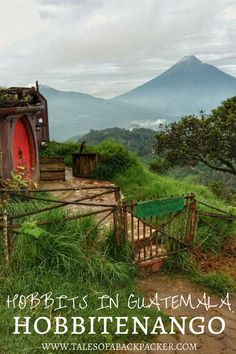 Did you know there are hobbits in Guatemala? High in the hills above Antigua, Hobbitenango is an eco-friendly hotel and restaurant with spectacular views of Antigua's volcanoes across the valley. Come and spend the night in your own Hobbit Hole, just like Middle Earth and Hobbiton in New Zealand, Hobbitenango is a special place!