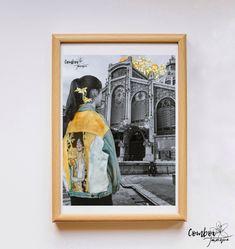 Làmina collage Klimt al Mercat Central de Comboi de Tarongina Klimt, Polaroid Film, Painting, Art, Art Background, Painting Art, Kunst, Paintings, Performing Arts