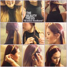 Hair How To: Braided Headband