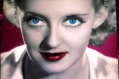 Bette Davis - colorized