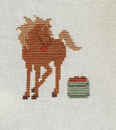 Love this little horse, it was a fun and quick stitch!