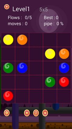 Flow Draw is an addictive puzzle game simple enough yet very challenging as you keep playing. Solve interesting puzzles by linking the same color dots! Free play through hundreds of levels, or race against the clock in Challenge mode. Download: www.mobilegamesbox.com