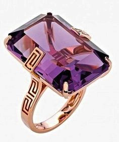 Versace cocktail ring. Step up yer game, Hank.