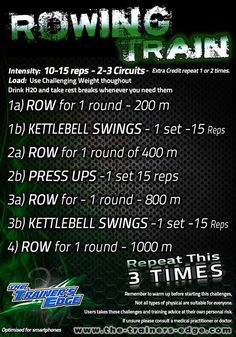 Definitely not a three time repeater, I think once will suffice, maybe upping th. - Definitely not a three time repeater, I think once will suffice, maybe upping the KB swings and pre - Kettlebell Routines, Kettlebell Cardio, Kettlebell Training, Kettlebell Swings, Hiit, Kettlebell Challenge, Kettlebell Benefits, Trx, Rowing Wod