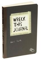 Wreck This Journal Book - A book filled with funny instructions on how to ruin it (Spilling food on a page, taking it in the shower and much more!)
