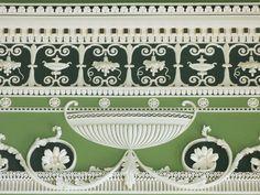 Scottish architect Robert Adam designed this frieze in the Eating Parlour of Headfort House, Ireland. Classical Architecture, Architecture Details, Interior Architecture, Ireland Homes, House Ireland, Decoration, Art Decor, Eaton Square, English Interior