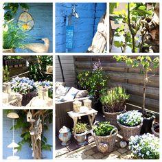 Kleine stukjes tuin