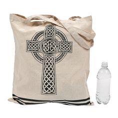 Celtic Cross Tote Bag - OrientalTrading.com