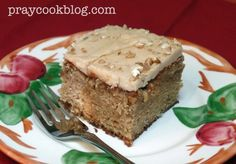 Apple Praline Cake -