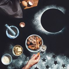 Galaxies and Space Stories with Food – Fubiz Media