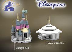 LEGO Ideas - Disneyland Microscale