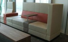 office waiting room with timeless design and advanced technology