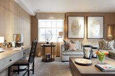 Contemporary Living Room in London, GB by Taylor Howes