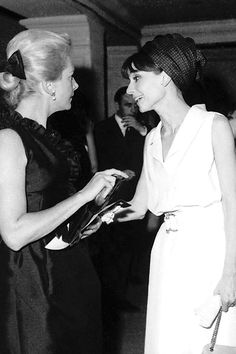 """To the world it might not have seemed that constant or deep an association, but we became very close, even though we didn't see each other much. I couldn't say, 'she was my best friend in my whole life'. Yet in a way, perhaps she was."" Deborah Kerr on Audrey Hepburn."