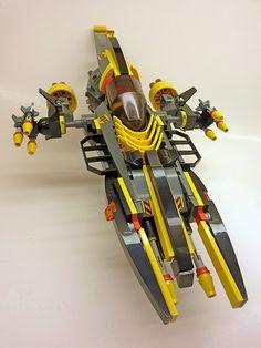 Lego Spaceship, Lego Robot, Lego Man, Big Lego, Lego Creative, Sculpture Metal, Lego Ship, Lego Boards, Lego Mechs