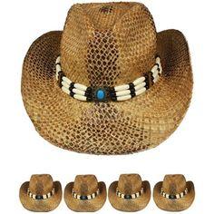 COWBOY Western HAT Women Cap Shapeable Sun Rodeo Brown MEN WOMEN Large   Unbranded  CowboyHat 78529fb63f7d