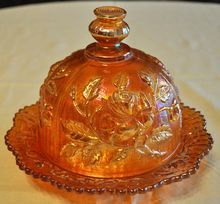 Imperial Open Rose Butter Dish