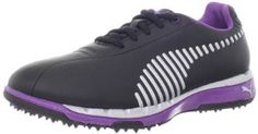 These comfortable and stylish looking womens faas grip wns golf shoes by Puma are made from wynthetic with a manmade sole
