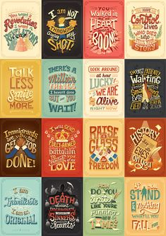 Complete Hand Lettering Collection on Behance