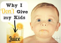 Is Juice Bad for Kids? Whenever I take my kids to the park, I always see herds of kids who are sucking down on juice boxes like it's going out of style. Their parents are always so eager to hand out the boxes of liquid sweetness because they t