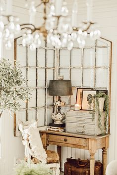 If you are looking for Spring Decor and Design inspiration, check out this curated spring page all designed by interior designer and author Liz Marie Rustic Decor, Farmhouse Decor, French Farmhouse, Antique Frames, Pet Bottle, Kitchen Pictures, Wall Spaces, Living Spaces, Living Room
