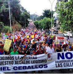 SOS VENEZUELA! GROW IN VENEZUELA PROTEST, INJUSTICE AND POVERTY