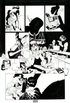 100 Bullets : Issue 64 Comic Art