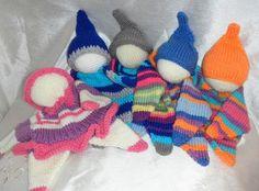 Schmusepuppe schmusetuch gehäkelt gestrickt waldorf style crochet doll