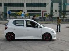 Toyota echo hatchback  cute right!