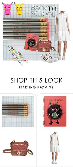 """""""Senza titolo #321"""" by e-cheli on Polyvore featuring moda, Chanel, Public School e adidas Originals"""