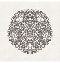 Celtic Weave Vector Mandala Gothic Lace Tattoo Celtic Weave Vector