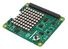 The Raspberry Pi Sense HAT is attached on top of the Raspberry Pi via the 40 GPIO pins with orientation, pressure, humidity and temperature sensors. Compatibility: Raspberry Pi 2 and 3 Model B, Raspberry Pi Model B+/A+. Raspberry Pi Models, Raspberry Pi 2, Types Of Experiments, Wow Deals, Video Card, Ibm, Card Sizes, Arduino, Hats