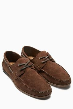 a8547b74cfe0 Buy Brown Suede Boat Shoe from the Next UK online shop