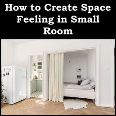 Small Bedroom Decorating Ideas - How to Create a Feeling of Space in a Small Room |  Small Bedrooms . If you've got a restricted quantity of space in your bedroom and still desire to make the most of it, then you require to read this post. We're going to look at three little bed room concepts for saving area but still getting full use of your room. * Discover more regarding the great item at the photo link. #home