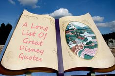 """""""A Long List of Disney Quotes"""" https://haileyjaderyan.com/2016/07/10/a-long-list-of-great-disney-quotes/"""
