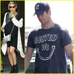 #Chris Hemsworth & Elsa Pataky Keep Busy Before the Twins Arrival! --- More News at : http://RepinCeleb.com  #celebnews #repinceleb