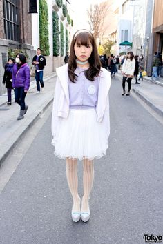 Cute pastel Japanese fashion