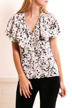 TORY BURCH BLOUSE @Michelle Coleman-HERS